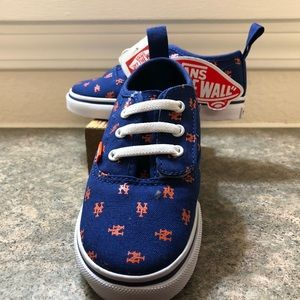 9e8ed7e7d045 Vans Shoes - Kids Vans NY Mets Shoes